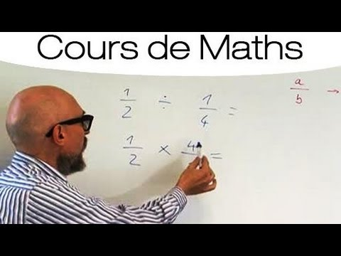 Maths : Multiplication Et Division Des Fractions video