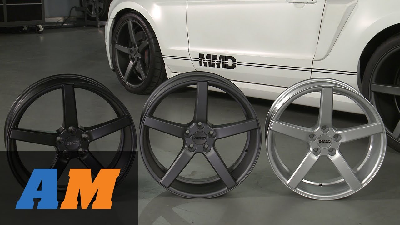 Mustang Mmd 551c Wheels Matte Black Charcoal And Silver