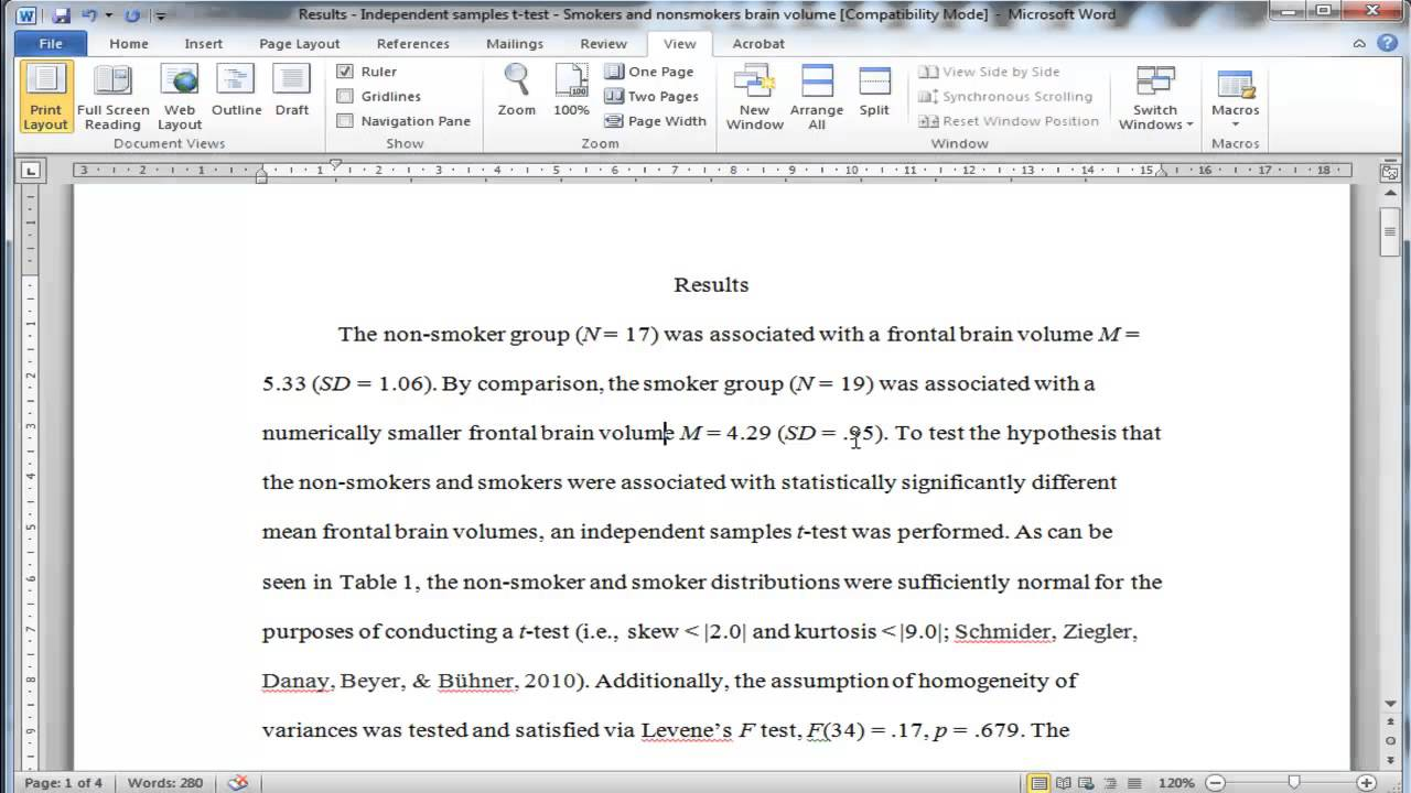 How to write up your dissertation findings