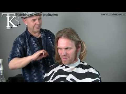 Make-over haircut and donation!! Man haircut L&L. Bart by T.K.S.