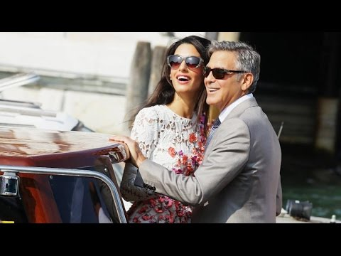 1st Photos From George Clooney's Wedding