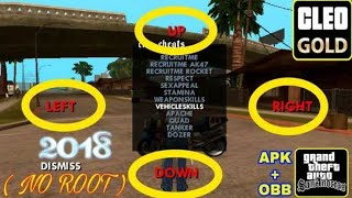 GTA SAN ANDREAS CLEO APK+DATA v1.08 (No root) for android free, LINK IN THE DESCRIPTION(Easiest way)