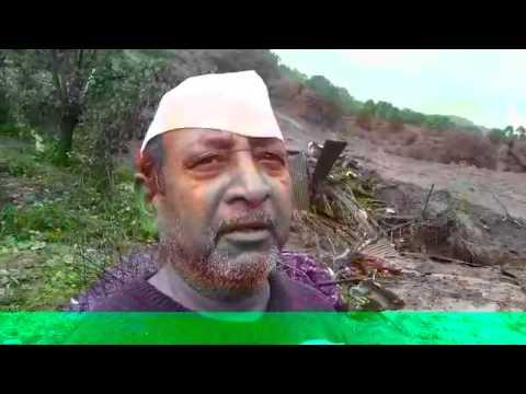 Landslide near Bhimashankar