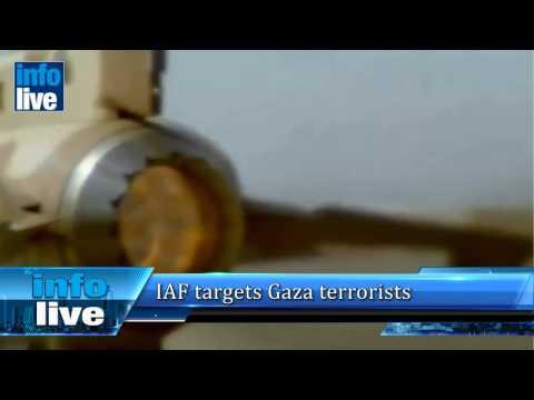 IAF targets Gaza terrorists