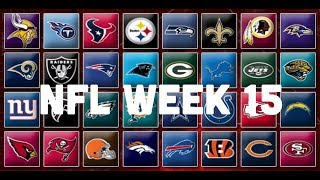 NFL Week 15 Picks & Predictions 2018 | 2019