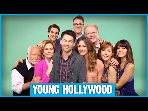 YOUR FAMILY OR MINE Set Visit with Richard Dreyfuss, Angela Kinsey, & More!