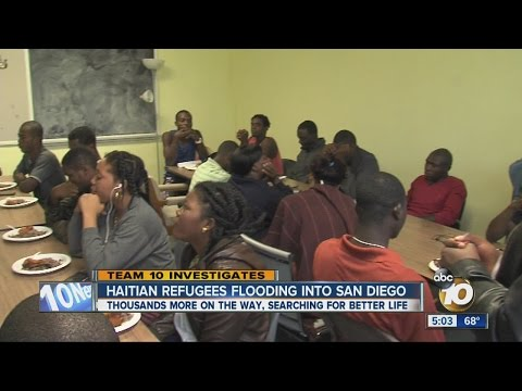 Team 10: Haitian refugees flooding into San Diego