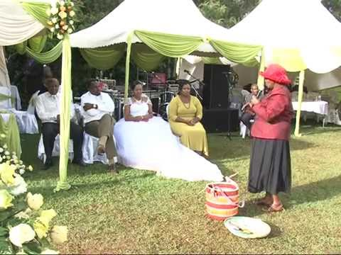 SUSAN AND NGANGA WEDDING SPEECHES AND GIFTS