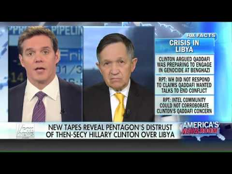 Dennis Kucinich: Hillary's Push For War In Libya Not Supported By Pentagon