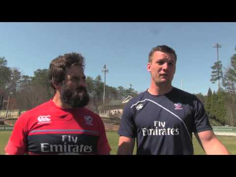 USA Rugby Eagles Cam Dolan and Phillip Thiel talk USA v. Uruguay