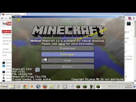 Como descargar Minecraft Comes Alive Mod para minecraft 1.5.2