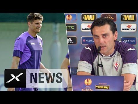 So wollen Mario Gomez, Vincenzo Montella und Co. noch ins Finale | AC Florenz - FC Sevilla