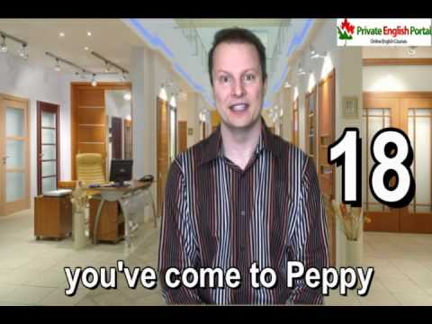 Learn English with Steve Ford - Peppy 18-Prepositions Lesson