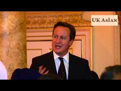 David Cameron Diwali Speech at 10 Downing Street London