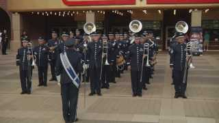 The Usafa Band Flash Mob