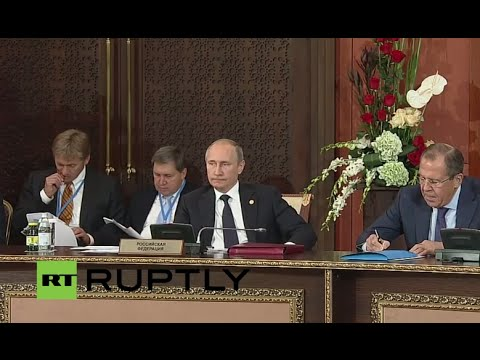 LIVE: Putin and Lavrov participate in CIS narrow and expanded format meetings