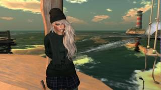 Sweater girl in Second Life
