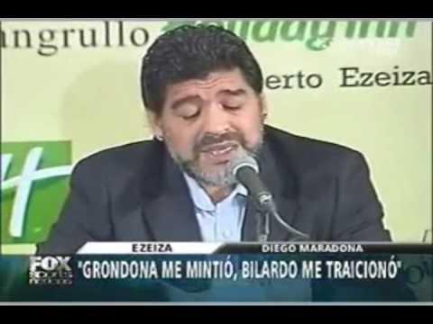 Maradona: El me mintió