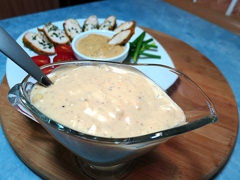 Сырный соус на основе соуса бешамель | Соус из сыра | Рецепт сырного соуса