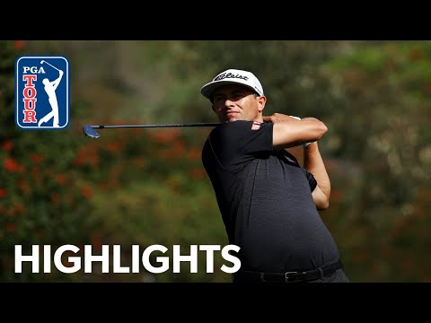 Adam Scott shoots 4-under 67 | Round 3 | Genesis 2020