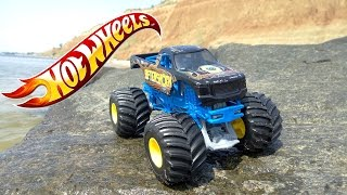 Hot Wheels Monster Jam 1/24. Hot Wheels Aftershock.