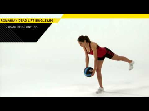 SINGLE LEG ROMANIAN DEAD LIFT Image 1