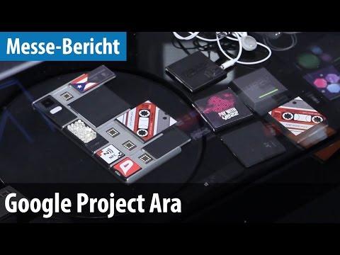 Google Project Ara - Erster Blick auf das Modul-Smartphone | deutsch / german