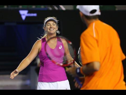 Klepac/Huey v Vandeweghe/Tecau highlights (SF) | Australian Open 2016