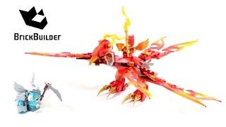 Lego Chima 70221 Flinx's Ultimate Phoenix - Lego Speed build