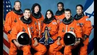 NASA SPACE SHUTTLE WAKE UP FOR RUNRIG FAN DR. LAUREL CLARK
