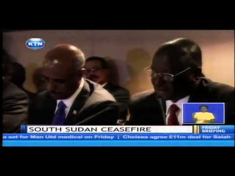 South Sudan ceasefire Deal