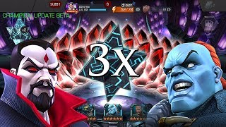 Triple 6 Star Crystal [MEGA BETA] Opening + 11x 5 Star Crystals | Marvel: Contest of Champions