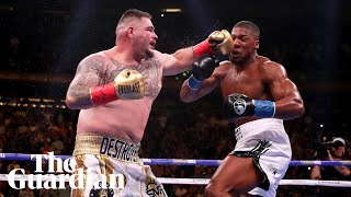 Andy Ruiz Jr after beating Anthony Joshua: 'I'm still pinching myself'