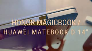 HUAWEI MATEBOOK D 14 '' - HONOR MAGICBOOK AMD RYZEN 5 ULTRABOOK INCELEME KUTU ACILISI TR DE ILK KEZ