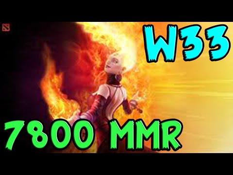 W33 7800 MMR Plays Lina vol #1 Dota 2