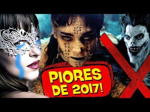 10 PIORES FILMES de 2017! 💩 👎 - ESPECIAL PIPOCANDO thumbnail