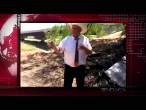 Cliven Bundy's Racist Rant At Press Conference