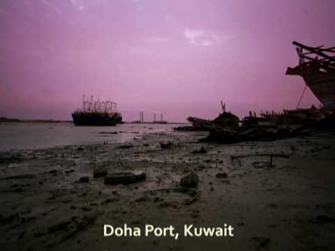 TimeLapse - Doha Port Sunset