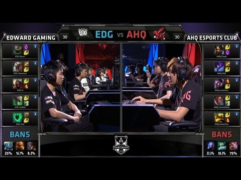 S4 Worlds Groups Stage EDG vs AHQ (Group A) Highlights