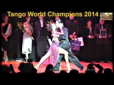 Campeon Mundial Escenario 2014, Despues Del Premio. Manuela  Rossi, Juan Malizia Gatti video