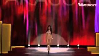 Miss Universe Paraguay 2011 , Alba Riquelme - Miss Universe 2011 Preliminary Competition