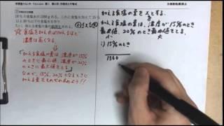 【てらtube】数Ⅰ 数と式 方程式と不等式 5.不等式の文章題