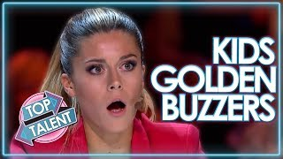 TOP Kids GOLDEN BUZZERS On Got Talent 2018! | Top Talent