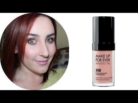 MAKE UP FOR EVER HD Invisible Cover Foundation 107 Pink