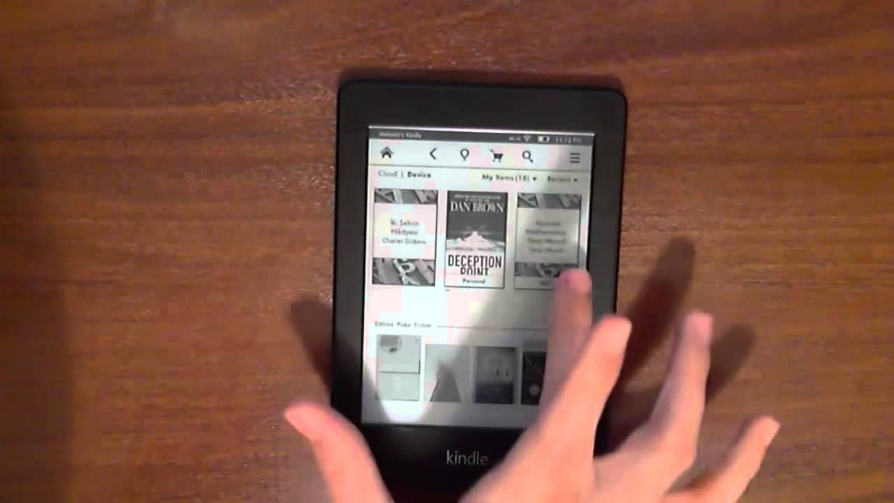 kindle owners lending library book listing