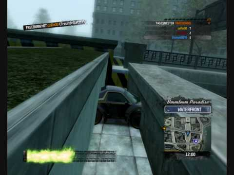 Burnout Paradise glitch Montage