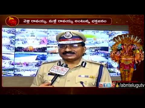 DGP Mahender Reddy About Ganesh Immersion Arrangements at Tank Bund | ABN Telugu