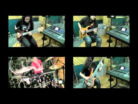 Six Magics - Falling Angels - Recording Session video