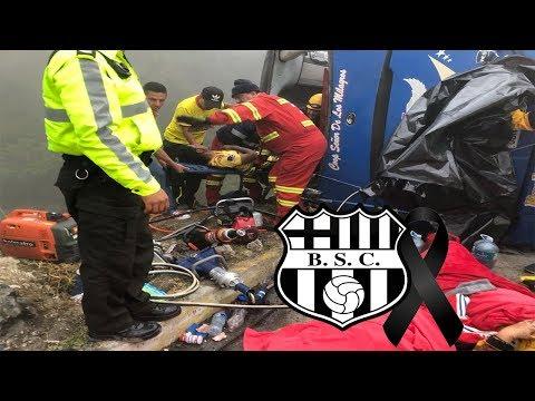 FALLECEN 12 HINCHAS DEL BARCELONA S.C EN TERRIBLE ACCIDENTE DE TRÁNSITO