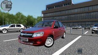 Покатушки в city car driving (6 часть) лада гранта 170 за городом !!!